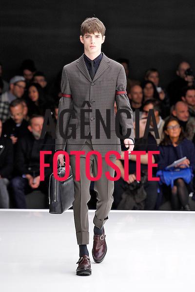 Milao, Italia &ndash; 01/2014 - Desfile de Z Zegna durante a Semana de moda masculina de Milao - Inverno 2014. <br /> Foto: FOTOSITE