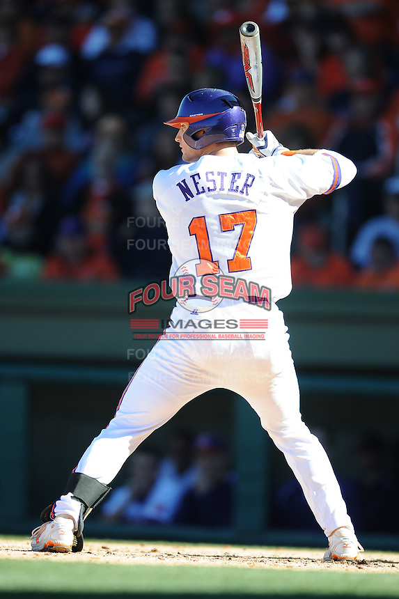 John Nester (Catcher) Clemson Tigers (Photo by Tony Farlow/Four Seam Images)