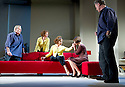 Passion Play by Peter Nichols, directed by David Leveaux. With Oliver Cotton as Jim, Samantha Bond as Nell, Zoe Wanamaker as Eleanor,Annabel Scholey as Kate, Owen Teale as James. Opens at The Duke of York's Theatre on 7/5/13. CREDIT Geraint Lewis