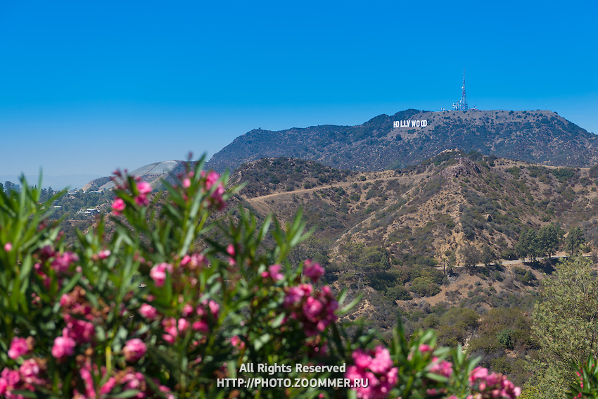 The Hollywood Sign, Los Angeles, California