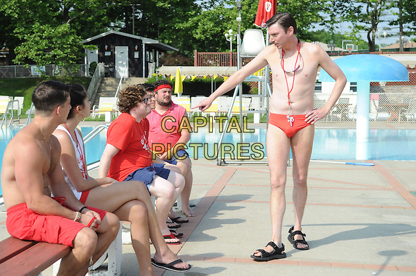 Staten Island Summer (2015) <br /> Cecily Strong, Zack Pearlman, Graham Phillips, Bobby Moynihan, Michael Patrick O'Brien<br /> *Filmstill - Editorial Use Only*<br /> CAP/FB<br /> Image supplied by Capital Pictures