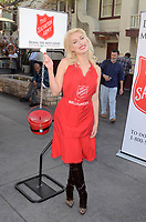 Hollin Haley<br /> at the Salvation Army Red Kettle Celebrity Kick-Off Event, The Grove, Los Angeles, CA 11-30-17<br /> David Edwards/DailyCeleb.com 818-249-4998
