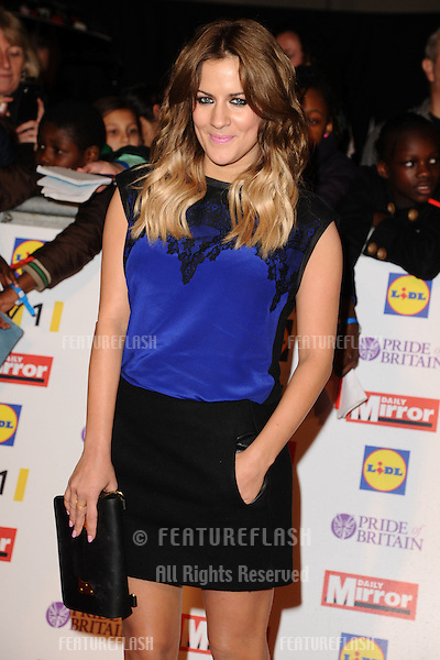 Caroline Flack arriving for the 2012 Pride of Britain Awards, at the Grosvenor House Hotel, London. 29/10/2012 Picture by: Steve Vas / Featureflash