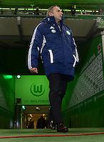 FUSSBALL   1. BUNDESLIGA    SAISON 2012/2013    15. Spieltag   VfL Wolfsburg - Hamburger SV                               02.12.2012 Manager Klaus Allofs (VfL Wolfsburg)