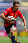 Spain vs Tonga during their HSBC Sevens Wold Series Qualifier match as part of the Cathay Pacific / HSBC Hong Kong Sevens at the Hong Kong Stadium on 27 March 2015 in Hong Kong, China. Photo by Juan Manuel Serrano / Power Sport Images