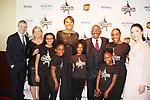 Timothy Goebel - Tina Lundgren - Robin Roberts - Al Roker - Meryl Davis & skaters - Figure Skating in Harlem presents Champions in Life Benefit Gala on April 29, 2019 at Chelsea Pier, New York City, New York - (Photo by Sue Coflin/Max Photos)