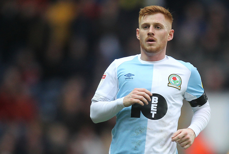 Blackburn Rovers Harrison Reed<br /> <br /> Photographer Mick Walker/CameraSport<br /> <br /> The EFL Sky Bet Championship - Blackburn Rovers v Bristol City - Saturday 9th February 2019 - Ewood Park - Blackburn<br /> <br /> World Copyright &copy; 2019 CameraSport. All rights reserved. 43 Linden Ave. Countesthorpe. Leicester. England. LE8 5PG - Tel: +44 (0) 116 277 4147 - admin@camerasport.com - www.camerasport.com