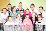 Talented Listry dancers at the Sult na nO?g county finals in the Killorglin CYMS hall on Friday evening front l-r: Aine Barrett, Aoife O'Mahony, Emma O'Sullivan, Shannon Tangney. Back row: Darragh Lehane, Meagan O'Connor, Shannon Howe, Joesph Clifford, Niall Kennedy, Aoife Murphy, Mairead Lehane, Kieran Brosnan and Katie Joyce