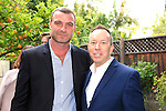 LOS ANGELES - MAY 15: Liev Schreiber, David Rambo at The Actors Fund's Edwin Forrest Day celebration at a private residence on May 15, 2016 in Sherman Oaks, California