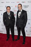 NEW YORK, NY - NOVEMBER 19: Claude Chelli and Abdel Raouf Dafri at the 40th International Emmy Awards in New York. November 19, 2012. © Diego Corredor/MediaPunch Inc. /NortePhoto
