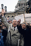 "Rev ""Ian Paisley"" ""Northern Ireland"" ""No Surrender"" banners. 1981"
