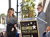 LOS ANGELES, CA. March 29, 2019: Rita Wilson & Tom Hanks at the Hollywood Walk of Fame Star Ceremony honoring actress Rita Wilson.<br /> Pictures: Paul Smith/Featureflash