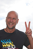 Loveparade 2010, Rainer Schaller, Loveparade organiser making victory sign before the tragic events happend, Duisburg, Germany