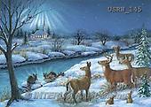 Randy, CHRISTMAS SYMBOLS, WEIHNACHTEN SYMBOLE, NAVIDAD SÍMBOLOS, paintings+++++Peaceful-Winter-Scene,USRW145,#xx# deer