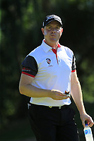 Richard McEvoy (ENG) walks off the 18th tee during Friday's Round 2 of the 2018 Turkish Airlines Open hosted by Regnum Carya Golf &amp; Spa Resort, Antalya, Turkey. 2nd November 2018.<br /> Picture: Eoin Clarke | Golffile<br /> <br /> <br /> All photos usage must carry mandatory copyright credit (&copy; Golffile | Eoin Clarke)