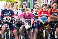 Picture by Alex Whitehead/SWpix.com - 07/06/2017 - Cycling - OVO Energy Women's Tour - Stage 1: Daventry to Kettering - Minutes silence.