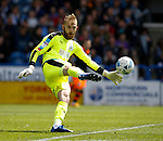 Joel Coleman of Huddersfield Town during the English Championship play-off 1st leg match at the John Smiths Stadium, Huddersfield. Picture date: May 13th 2017. Pic credit should read: Simon Bellis/Sportimage