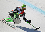 March 27, 2012:  Andrew Earl Kurka competes in the downhill competition at the U.S. Adaptive Alpine National Championships at the Racer's Edge course in Aspen, Colorado.