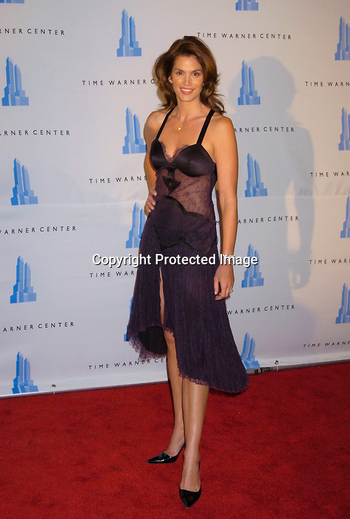 Cindy Crawford..at the Time Warner Center grand Opening on February 4, 2004 in New York City. Photo by Robin Platzer, Twin Images