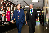 Neil Warnock Manager of Cardiff City arrives for the Sky Bet Championship match between Swansea City and Cardiff City at the Liberty Stadium in Swansea, Wales, UK. Sunday 27 October 2019