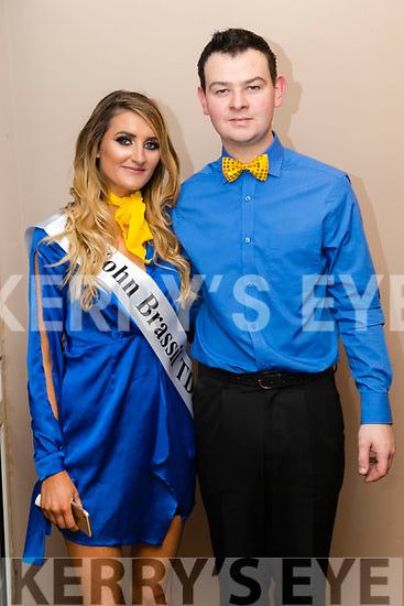 Pádraig Leen and Karen Harty at Ballymac Strictly Come Dancing, at Ballygarry House Hotel & Spa, Tralee, on Saturday night