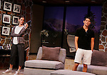 """Brenda Withers, Davy Raphaely star in """"Other Desert Cities"""" at the tech rehearsal (in costume) on October 14, 2015 at Whippoorwill Halll Theatre, North Castle Library, Kent Place, Armonk, New York.  (Photo by Sue Coflin/Max Photos)"""