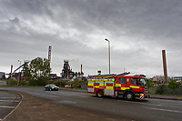 2019 04 26 Explosion at Tata Steel Works in Port Talbot, Wales, UK