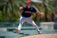 GCL Red Sox pitcher Brandon Walter (60) during a Gulf Coast League game against the GCL Orioles on July 29, 2019 at Ed Smith Stadium in Sarasota, Florida.  GCL Red Sox defeated the GCL Pirates 9-1.  (Mike Janes/Four Seam Images)