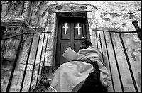 Ethiopian Monk, Jerusalem 1999