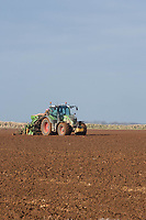Drilling Planet Spring Barley in Lincolnshire<br /> &copy;Tim Scrivener Photographer 07850 303986<br /> ....Covering Agriculture In The UK....