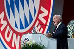 30.11.2018, Audi Dome, Muenchen, GER, FC Bayern Jahreshauptversammlung 2018, im Bild Walter Mennekes (Vizepraesident FCB) <br /> <br /> Foto &copy; nordphoto / Straubmeier