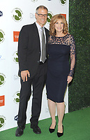 NEW YORK, NY - OCTOBER 04: Farm Sanctuary President Gene Baur and  Carol Leifer attends the 2018 Farm Sanctuary on the Hudson gala at Pier 60 on October 4, 2018 in New York City.     <br /> CAP/MPI/JP<br /> ©JP/MPI/Capital Pictures