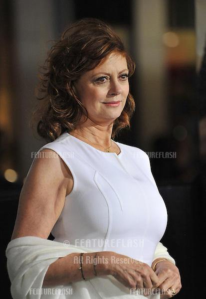 """Susan Sarandon at the Los Angeles premiere of """"Cloud Atlas"""" at Grauman's Chinese Theatre, Hollywood..October 24, 2012  Los Angeles, CA.Picture: Paul Smith / Featureflash"""