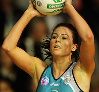 Thunderbirds centre Laura Von Bertouch during the ANZ Netball Championship match between the Waikato Bay of Plenty Magic and Adelaide Thunderbirds, Mystery Creek Events Centre, Hamilton, New Zealand on Sunday 19 July 2009. Photo: Dave Lintott / lintottphoto.co.nz