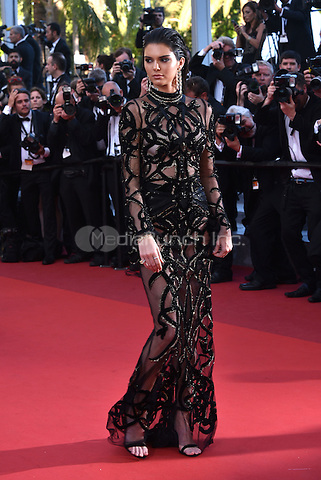 Kendall Jenner<br /> 'Mal de Pierres' screeningat 69th International Cannes Film Festival, France  May 15, 2016.<br /> CAP/PL<br /> &copy;Phil Loftus/Capital Pictures /MediaPunch ***NORTH AND SOUTH AMERICA ONLY***