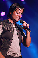 MIAMI, FL - AUGUST 3, 2012: Chayanne during the Gigant3s concert featuring, Marc Anthony, Chayanne and Marco Anotonio Solis at the American Airlines Arena in Miam, Florida. August 3, 2012. © Majo Grossi/MediaPunch Inc. /NortePhoto.com<br />