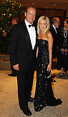 Kelsey Grammer and his wife, Camille Grammer, arrive for the 2003 White House Correspondents Dinner at the Washington Hilton Hotel in Washington, DC on April 26, 2003..Credit: Ron Sachs / CNP