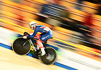 Picture by Alex Broadway/SWpix.com - 02/03/2018 - Cycling - 2018 UCI Track Cycling World Championships, Day 3 - Omnisport, Apeldoorn, Netherlands - Jack Carlin of Great Britain competes in the Men's Sprint Qualifying.