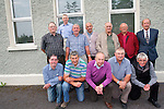 A reunion for the past pupils of third and fourth class in 1958. <br /> Front L-R Frank Cronin, Timothy Ferris, Patsy Joy, Tom Curran and Dominic Coffey. <br /> Back L-R Paul O'Sullivan, Vincent Moriarty, Cathal Foley, Sean O'Connor, Gerald Teahan, Paddy Moriarty and Liam Crowley.