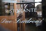 Exterior, Pan Ai Ladroni Restaurant, Rome, Italy