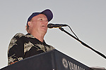 Tim McLoone and the Shirleys entertain, nearly 8,000 on the beach at Sandy Hook, NJ.