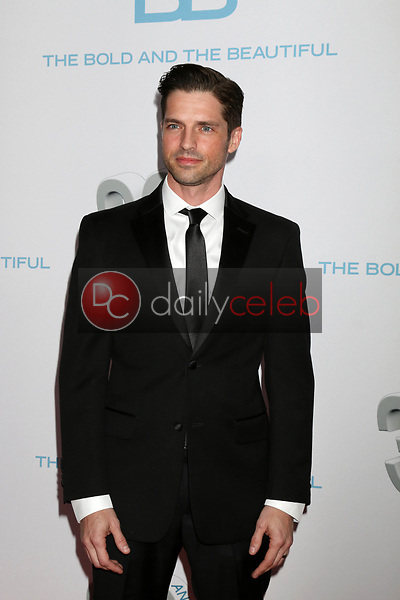 """Scott Bailey<br /> at the """"The Bold and The Beautiful"""" 30th Anniversary Party, Clifton's Downtown, Los Angeles, CA 03-18-17<br /> David Edwards/DailyCeleb.com 818-249-4998"""
