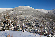 Appalachian Trail - South Twin Mountain from Galehead Hut in Franconia, New Hampshire during the winter months.