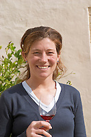 Anna Baques, oenologist & winemaker. Can Rafols dels Caus, Avinyonet, Penedes, Catalonia, Spain.