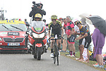Simon Yates (GBR) Mitchelton-Scott climbs Prat d'Albis in the lead during Stage 15 of the 2019 Tour de France running 185km from Limoux to Foix Prat d'Albis, France. 20th July 2019.<br /> Picture: Colin Flockton | Cyclefile<br /> All photos usage must carry mandatory copyright credit (© Cyclefile | Colin Flockton)