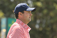 Patrick Reed (USA) on the 17th tee during the First Round - Four Ball of the Presidents Cup 2019, Royal Melbourne Golf Club, Melbourne, Victoria, Australia. 12/12/2019.<br /> Picture Thos Caffrey / Golffile.ie<br /> <br /> All photo usage must carry mandatory copyright credit (© Golffile | Thos Caffrey)