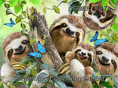 Howard, REALISTIC ANIMALS, REALISTISCHE TIERE, ANIMALES REALISTICOS, paintings+++++,GBHR887A,#a#, EVERYDAY ,puzzles