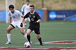 SALEM, VA - DECEMBER 3:David Waterson (17) of Calvin College moves the ball down the field during theDivision III Men's Soccer Championship held at Kerr Stadium on December 3, 2016 in Salem, Virginia. Tufts defeated Calvin 1-0 for the national title. (Photo by Kelsey Grant/NCAA Photos)