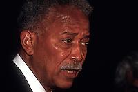 New York, NY 9 September 1993 - NYC Mayor David Dinkins