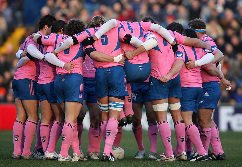 Photo: Paul Thomas..Sale Sharks v Stade Francais. Heineken Cup. 17/12/2006...Stade Francais.